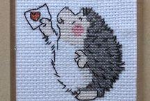 kaneviçe-cross stitch