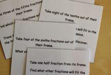 Montessori Math : Fractions