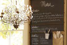restaurant/bistro interior