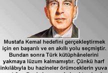 Atatürk  hakkında  söylenen  sözler
