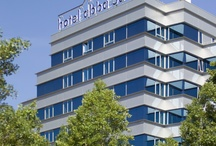abba Sants Hotel****Sup. / This is a modern, welcoming hotel which opened in 2000. This light, bright hotel is located alongside public gardens, in the centre of the city of Barcelona. Offering very convenient access to El Prat airport, the Recinto Ferial de Barcelona and much more, with a multitude of facilities and a magnificent restaurant, Amalur, serving original and Basque cuisine. / by Abba Hoteles