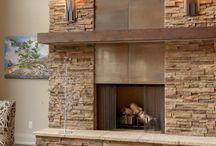 Fire place fascia
