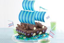 Edible transportation / Ideas for edible ships motorcars, planes, trains, trucks