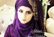 hijab poto