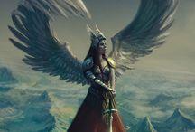 Anjos guerreiros