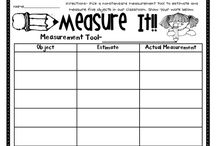 Measurement- 1st grade / by Nicole Williams