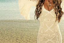 Szépséges kötött és horgolt ruhák