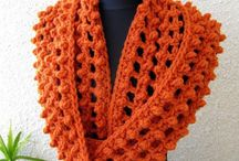 CROCHET KRAZY~Accessories~Cowls, Loop, & Infinity Scarves / by Donna Medley