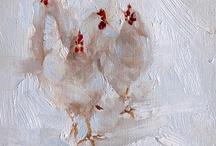 poules et autres galinacés