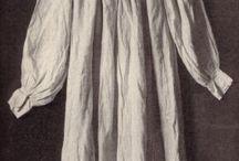 Dragt - Undertøj 16th century