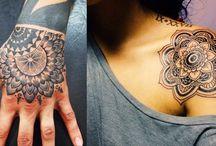 Mehendi, tattoo