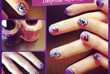 Nail art ongles et paillettes