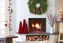 Как украсить квартиру в Новый год? / Здесь мы собираем идеи, как можно необычно украсить свое уютное гнездышко.