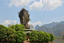 Destinations in Myanmar (Burma)