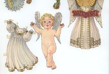 Paper dolls for the holidays / by Marien Rutigliano