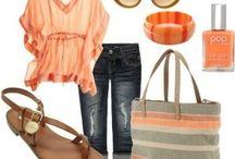 Clothes, hair, and nails