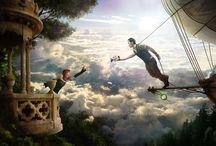 Conto de Fadas / Meu painel é inspirado em contos de fada!