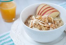 Rise & Shine / These easy to make, healthy breakfast recipes will give you new reasons to rise and shine.