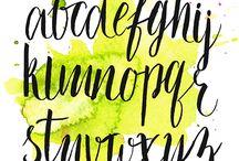 designer e caligrafia hall / Aqui você acha as maiores inspirações na hora de montar o seu Bujo, ou até estudar!