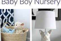 Navy and grey nursery