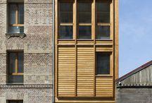 Architecture - Narrow Urban