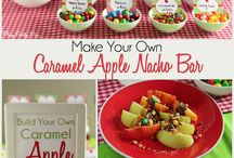 Birthday snack ideas / Fun and quite easy snack ideas for birthday. (Some of the ideas are for slumber party)