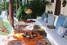 Tribal Decor / Jean Marc Houmard and Yvan Cusigh share a unique and interesting mix of world-inspired design combined with traditional colonial crafts from Nicaragua, and a touch of mid-century modern sensibility.