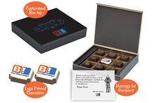 Corporate Diwali Gifts / Best diwali gift for corporate at Chococraft. We make logo chocolates packed in customised wooden box with a message for the recipient. Check more details here: https://www.chococraft.in/pages/diwali-gifts