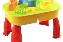 Sand Water Table Garden Sandpit Play Set Toy Childrens Outdoor Sandpit Bucket