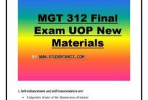 MGT 312 Final Exam