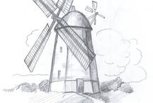Umění (kresby) / Kreslení