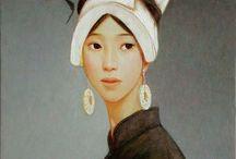 women in paintings