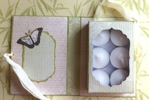 Tealight box card
