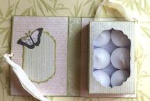 Tealight box card