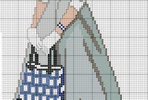 lata 50 cross stitch