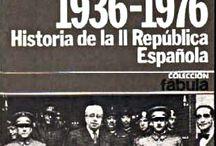 1936-1976 HISTORIA DE LA II REPÚBLICA ESPAÑOLA de Víctor Alba (1976)