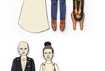modellini di carta