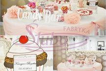 Candy Bar słodki bufet / Aranżacja Candy Barów www.fabrykaslubu.pl
