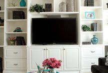 Built in cabinets  / by Ashly Lowe