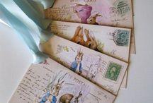 Pocztówki z motywem królika / Pocztówki z motywem królika.