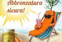 Abbronzatura sicura (solari e integratori) / Integratori naturali Dr. Giorgini contenenti piante e nutritivi utili per preparare la pelle all'esposizione solare, favorendo un'abbronzatura più intensa e sicura.