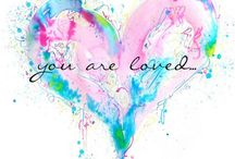 Hearts / Loving thoughts and hearts / by Karen Hurdt