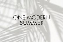 One Modern Summer / Here's to finding your underwater bliss…soaking up the summer rays…setting the night on fire. How do you do summer? Show us your modern summer pics for a chance to win a Movado BOLD!