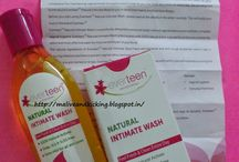Review by Alive n Kicking /  Greater improvements in epidermis of vagina is noticed during my menstrual cycle which used to cause unbearable discomfort, but Everteen Natural Intimate Wash perfectly promotes cell regeneration in vaginal walls and heals the affected parts.