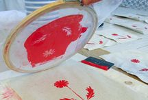 Screen printing and dying / by Michelle Hambly