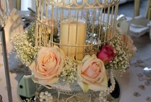 Bird Cage Decor / Having a different theme is great for your next event.  Let us help you create that look.  www.yourmainstream.com