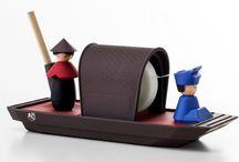 Gadżety biurowego estety - zabawki Office Warriorsów / Designerskie gadżety dla biurowych wojowników uprzyjemniające pracę i cieszące zmysły.