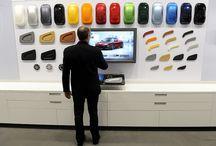 car material display