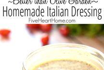 Italian dressings