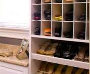 Compact shoe racks